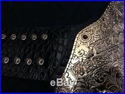 WWE BIG GOLD CHAMPIONSHIP BELT withUndertaker Nameplate