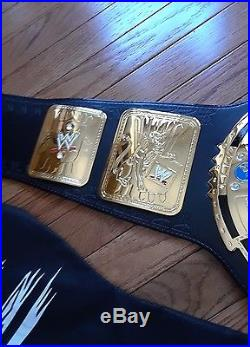 WWE Big Eagle Championship Belt Replica Attitude Era GREAT Shape