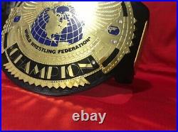 WWE Big Eagle Championship Wrestling Replica Title Belt Adult Size 2mm