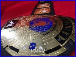 WWE Big Eagle Championship Wrestling Replica Title Belt Adult Size 2mm WWF