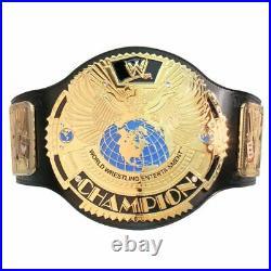 WWE Big Eagle Championship Wrestling Replica Title Leather Belt 2mm 4mm WWF