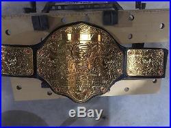WWE Big Gold Figures Inc Rare 4mm Championship Belt