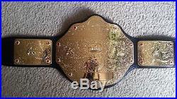 WWE Big Gold World Heavyweight Championship Belt Replica Adult/ Metal WWF WCW