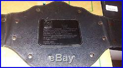 WWE Big Gold World Heavyweight Championship Title Belt Replica WCW Metal Plates