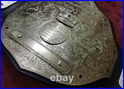 WWE Big Gold World Heavyweight Championship Wrestling Belt Adult Size4mm Plates