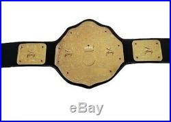 WWE Big Gold World Heavyweight Championship Wrestling Belt Adult Size Replica