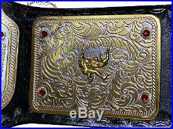 WWE Big Gold World Heavyweight Wrestling Championship Belt Dual Plated