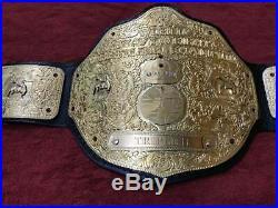WWE Big Gold World Heavyweight Wrestling Championship Belt Replica