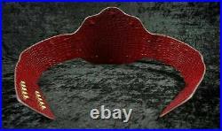 WWE Big Gold World Heavyweight Wrestling Championship Replica Belt WCW 4mm Zinc