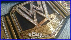 WWE Big Logo Championship Replica Belt Adult/Metal WCW ECW Wrestling