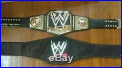 WWE Big Logo V2 RARE Figures Inc Replica Championship Belt WWF The Rock