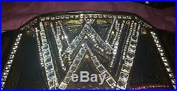 WWE Big Logo V3 Wrestling Title Championship Belt Restoned and Releathered (WWF)