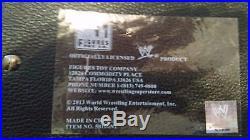 WWE CHAMPIONSHIP 2013 CHAMPION VERSION METAL ADULT SIZE REPLICA TITLE BELT rock