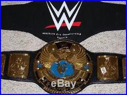 WWE CHAMPIONSHIP ATTITUDE ERA VERSION METAL ADULT REPLICA WWF TITLE BELT with BAG