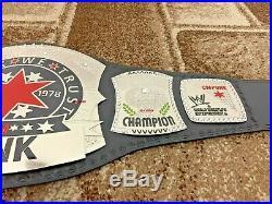 WWE CM PUNK Wrestling Championship Leather Belt