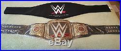 Wwe Commemorative Heavyweight Championship Title Belt. 2014 Debut