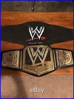 WWE Championship (2013 Scratch Logo) Adult Replica Belt