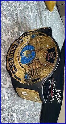 WWE Championship Adult Replica Attitude Era Belt Beautiful Condition