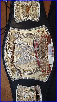 WWE Championship Adult Size Replica Spinner Belt missing name plate