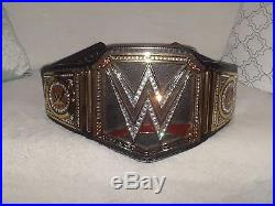 WWE Championship Belt, Metal Replica Title, Adult Size Adult Owned