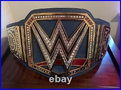 WWE Championship Belt. New Blue Universal Championship Belt. Authentic WWE