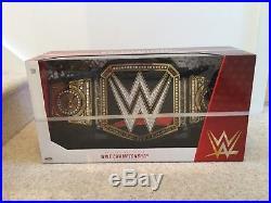 WWE Championship Collectible Title Belt Adult Size Jakks Pacific Rare