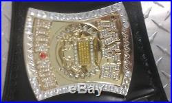 WWE Championship Spinner Adult Replica Title Belt WWF EDGE CENA