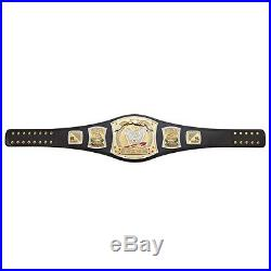 WWE Championship Spinner Replica Adult Size With METAL PLATES Title Belt
