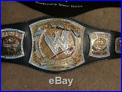 WWE Championship Spinner Replica Title Belt (CM Punk name Plate)