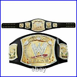WWE Championship Spinner Replica Title Belt Gold Plated Adult Spin Belt