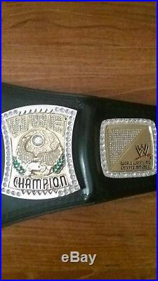 WWE Championship Spinner Replica Title Belt -Great Condition- CM PUNK nameplate
