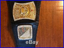 WWE Championship Spinner Replica Title Belt Very Good Condition