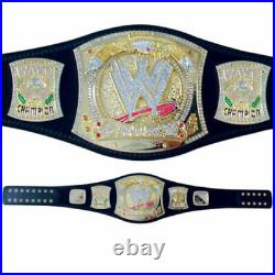 WWE Championship Spinner Wrestling Title Adult Size Belt Replica 2mm 4mm