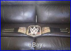 WWE Championship Title Belt Replica Authentic Raw / Smackdown Adult WWF