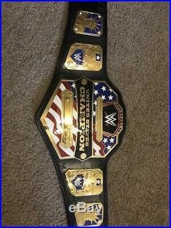 WWE Commemorative united states championship belt