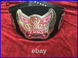 WWE Divas Championship Belt / Real Leather / Adult Size (Replica)