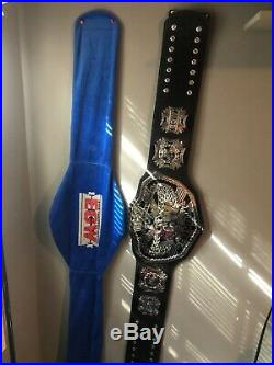WWE ECW SIGNED Heavyweight Championship Replica Adult Title Belt Ultra Deluxe