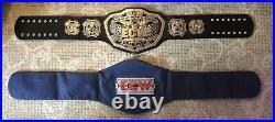 WWE ECW WORLD CHAMPIONSHIP 2008 Silver Adult Replica Title Belt SciFi SyFy WWF
