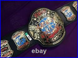 WWE ECW World Heavyweight Championship Replica Title Belt Brass Adult Size