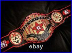WWE Edge Custom Championship Leather Belt 4MM Gold Zinc Belt (Rplica)