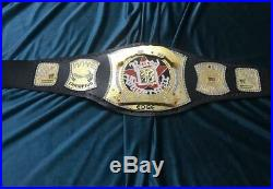 WWE Edge Rated R Spinner Championship 4MM Belt / Adult Size (Replica)