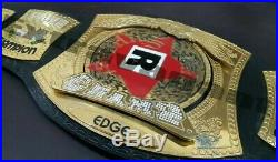 WWE Edge Rated R Spinner Championship Wrestling Belt Adult Size