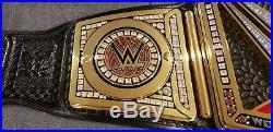 WWE Elite Authentic TV Series Championship Title Belt Network Logo VERSION 2