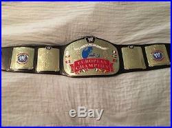 WWE European Championship Belt