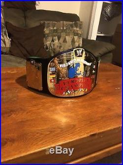 WWE European Championship Belt Adult Replica (RARE)