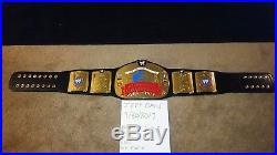 WWE European Championship Title Belt Replica WWF/WCWithECW RARE