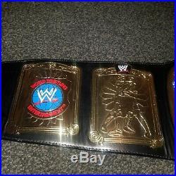WWE European Championship Title Figures Toy Company Adult Replica Belt WWE