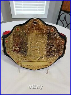 WWE Figures Inc Next Gen 4mm BIG Gold World Heavyweight Championship Belt