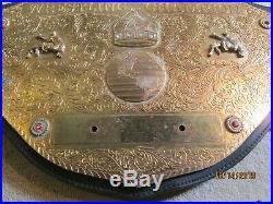 WWE Figures Toy Co Big Gold HEAVYWEIGHT CHAMPIONSHIP Mens WRESTLING BELT WWF WCW
