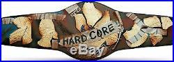 WWE Hardcore Heavyweight Championship Title Leather Belt World Wrestling NWT